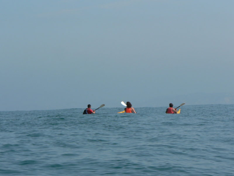 Kayak de mer avec Evolution 2 Pays Basque