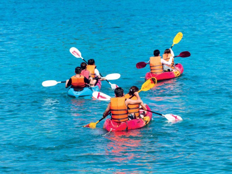 Kayak de mer Saint Jean de Luz avec Evolution 2 Pays Basque